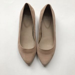 EILEEN FISHER Jil Pointed Toe Leather Flats